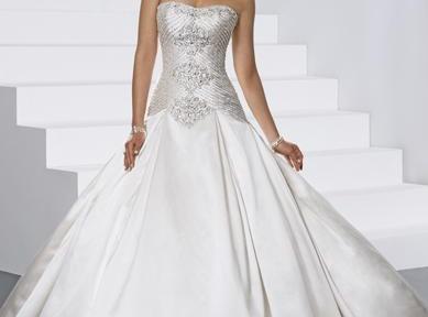 59cb53282228 Alta moda abiti da sposa ricami di perline
